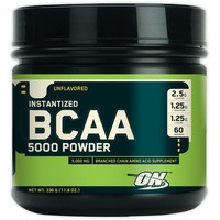 OPTIMUM NUTRITION BCAA 5000 Powder Unflavored 345 г