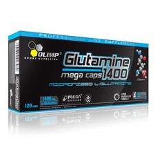 Аминокислоты OLIMP Glutamine Mega Caps 1400 120 кап в Евпатории