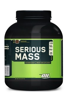 Гейнеры (gainer) OPTIMUM NUTRITION Serious Mass 2.72 кг в Электростали