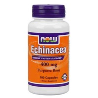 NOW Echinacea Root 400мг 100 кап