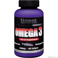ULTIMATE Omega 3 1000мг 180 гел капс