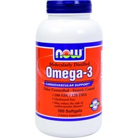 NOW Omega 3 100 кап