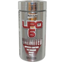 NUTREX Lipo-6 Unlimited 120 капсул