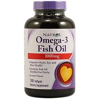 NATROL Omega-3 Fish Oil 1000 mg 90 кап