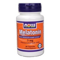 NOW Melatonin 3 мг 60 кап