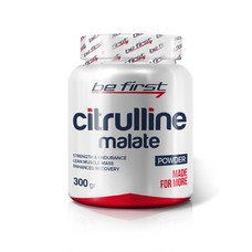Аргинин аминокислоты BE FIRST Citrulline Malate Powder 300 г в Евпатории