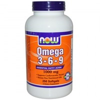NOW Omega 3-6-9 1000 мг 250 кап