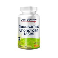 BE FIRST Glucosamine+Chondroitin+MSM 90 таб